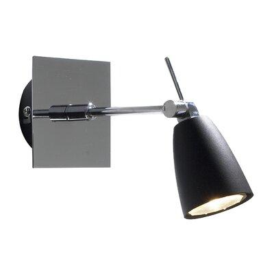 Dar Lighting Empire 1 Light Wall Spotlight
