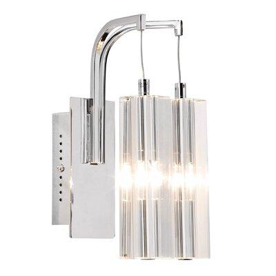 Dar Lighting Galileo 2 Light Semi-Flush Wall Light