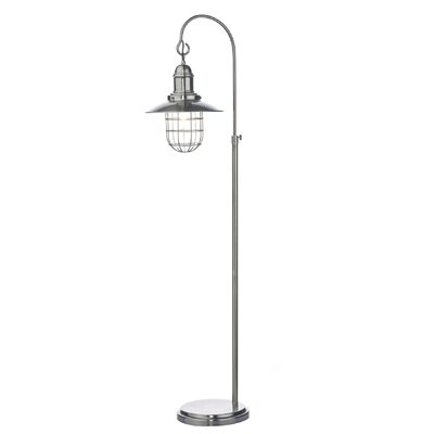 Dar Lighting Terrace 153cm Arched Floor Lamp