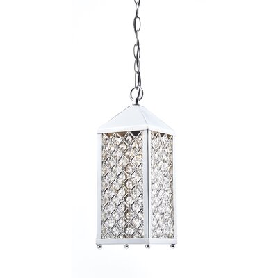 Dar Lighting Pagoda 1 Light Foyer Pendant
