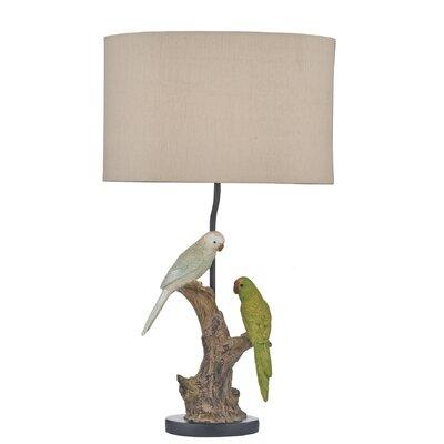 Dar Lighting Budgies 60cm Table Lamp
