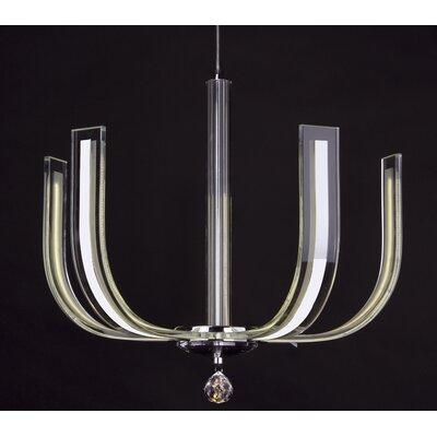 Dar Lighting Carina 4 Light Cluster Pendant