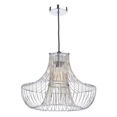 Dar Lighting Bryce 1 Light Foyer Pendant