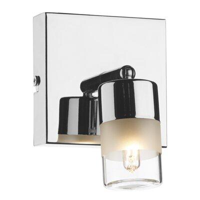 Dar Lighting Artemis 1 Light Semi-Flush Wall Light