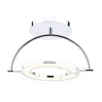 Dar Lighting Atom 40 Light Semi-Flush Wall Light