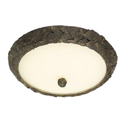 Dar Lighting Acorn 33 Light Flush Ceiling Light