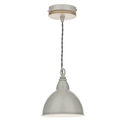 Dar Lighting Blyton 1 Light Bowl Pendant
