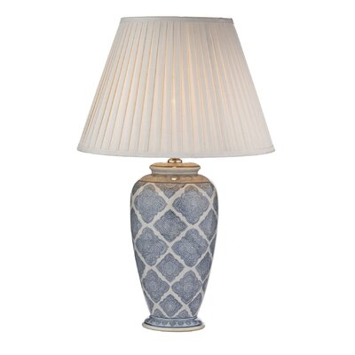 Dar Lighting Ely 40cm Table Lamp