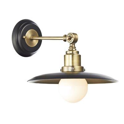 Dar Lighting Hannover 1 Light Semi-Flush Wall Light
