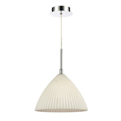 Dar Lighting Lymington 1 Light Bowl Pendant