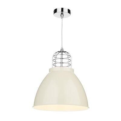 Dar Lighting Seymour 1 Light Bowl Pendant