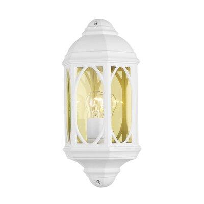 Dar Lighting Tenby 1 Light Flush Wall Light