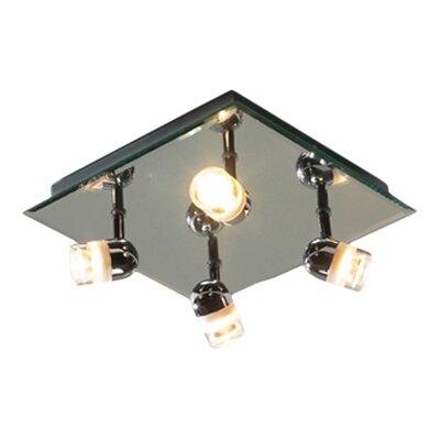 Dar Lighting Pure 4 Light Ceiling Spotlight
