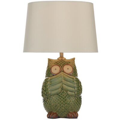 Dar Lighting Owl 44cm Table Lamp