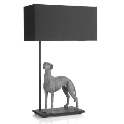 Dar Lighting Greyhound 63cm Table Lamp