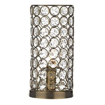 Dar Lighting Frost 27cm Table Lamp