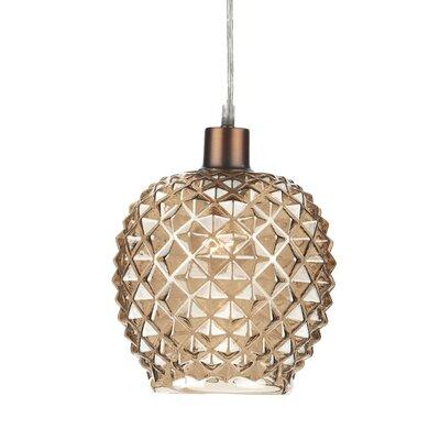 Dar Lighting Glass Oval Pendant Shade