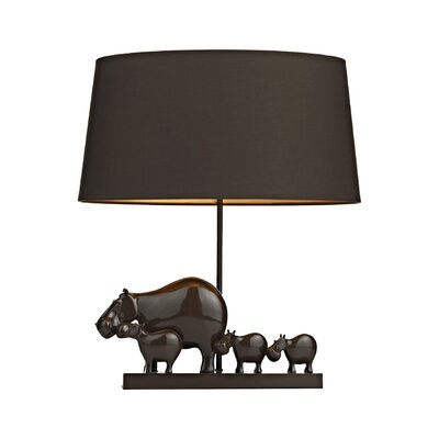 Dar Lighting Hippo 53cm Table Lamp