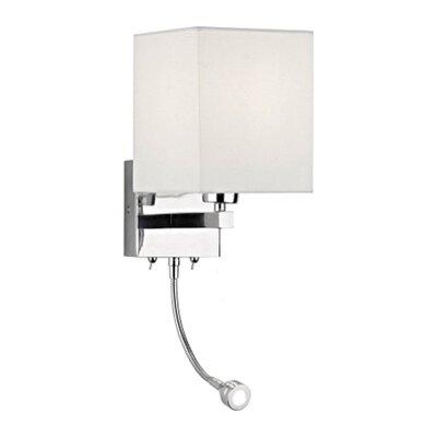 Dar Lighting Tatton 1 Light Semi-Flush Wall Light