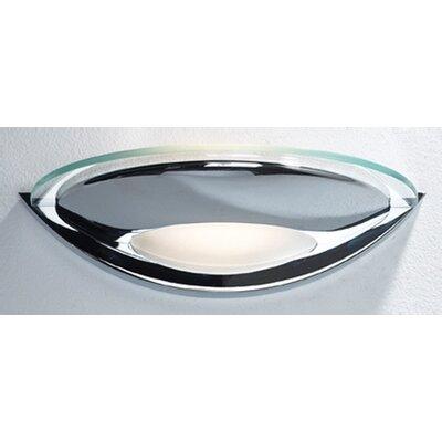 Dar Lighting 27cm Glass Bowl Wall Sconce Shade