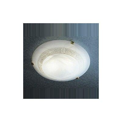 Dar Lighting 40cm Glass Bowl Lamp Shade