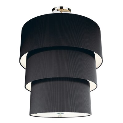 Dar Lighting Zaragoza 12 Light Drum Pendant