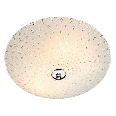 Dar Lighting Clarence 3 Light Flush Ceiling Light