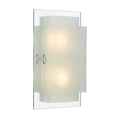 Dar Lighting Holt Glass Rectangular Wall Sconce Shade