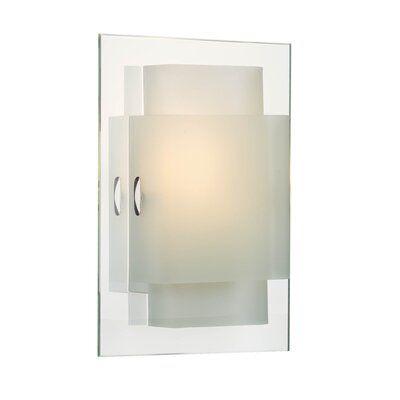 Dar Lighting Holt Glass Rectangular Wall Sconce Shade