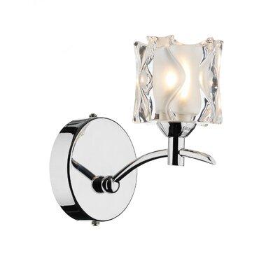 Dar Lighting Jacob 1 Light Semi-Flush Wall Light