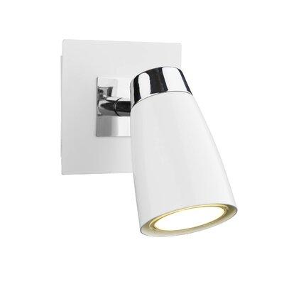 Dar Lighting Loft 1 Light Wall Spotlight