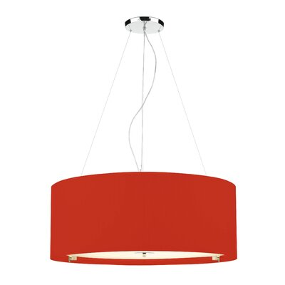 Dar Lighting Zaragoza 6 Light Drum Pendant