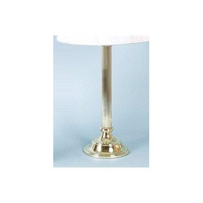 Dar Lighting Park Brass 40cm Table Lamp Base
