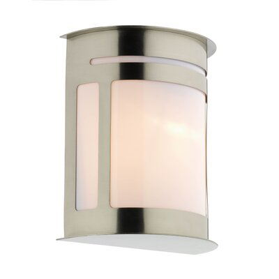 Dar Lighting Alumni 1 Light Flush Wall Light