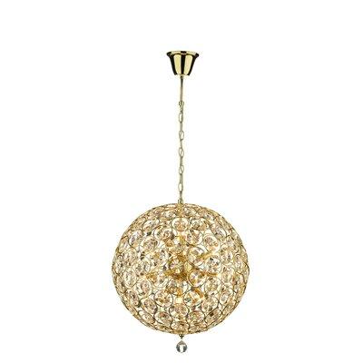 Dar Lighting Geneva 15 Light Globe Pendant
