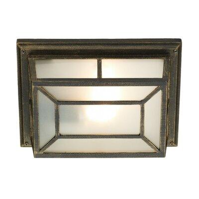 Dar Lighting Trent 1 Light Outdoor Bulkhead Light