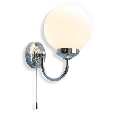 Dar Lighting Barclay 1 Light Semi-Flush Wall Light