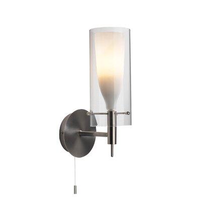 Dar Lighting Boda 1 Light Semi-Flush Wall Light