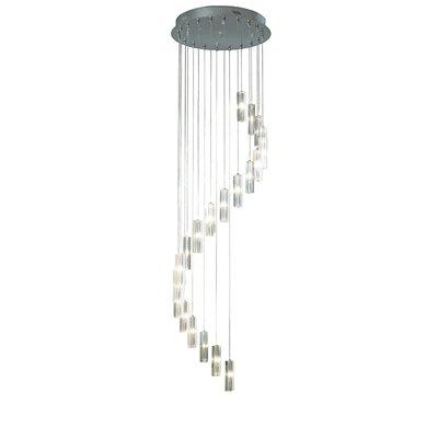 Dar Lighting Galileo 20 Light Cascade Pendant