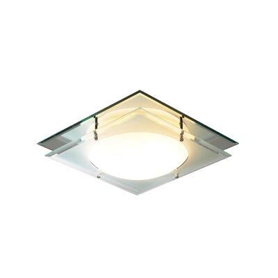 Dar Lighting 1 Light Flush Ceiling Light