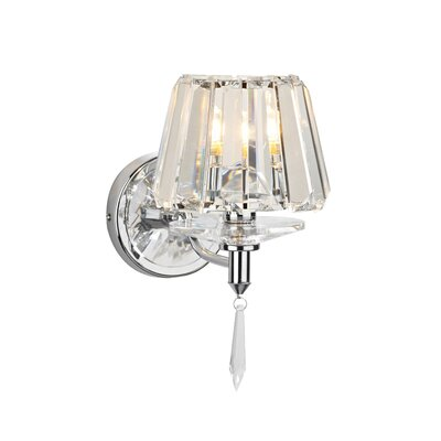 Dar Lighting Selina 1 Light Semi-Flush Wall Light