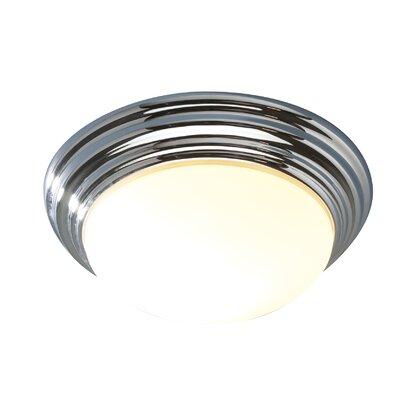 Dar Lighting Barclay 1 Light Flush Ceiling Light