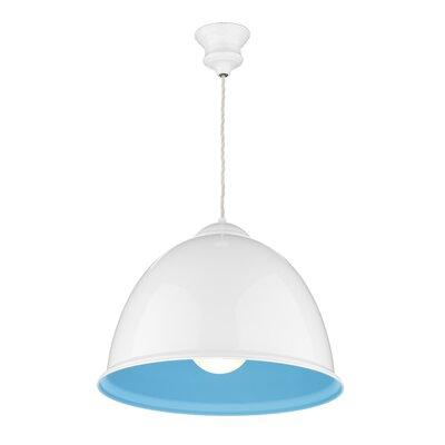 Dar Lighting Euston 1 Light Bowl Pendant