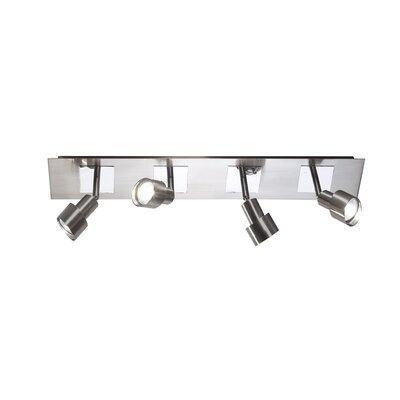 Dar Lighting Futura 4 Light Ceiling Spotlight