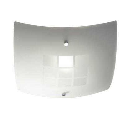 Dar Lighting Ventana 1 Light Flush Ceiling Light
