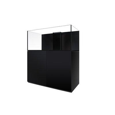 "Aquarium kit Size: 20.5"" H x 18"" W x 18"" D, Finish: Black"