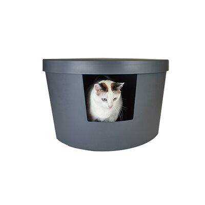 Corner Kitty Modern Litter Box Color: Gray