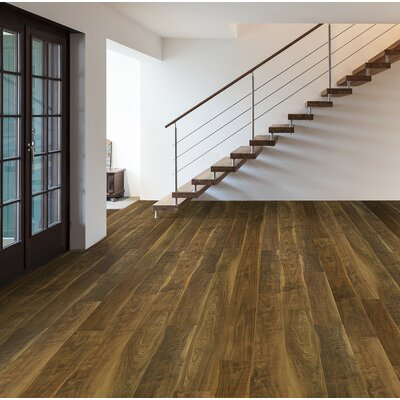 """Skyscrappers 7.5"""" x 72"""" x 12mm Walnut Laminate Flooring in Empire State Building"""