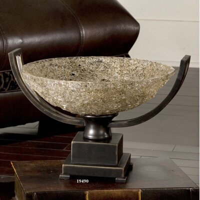 Uttermost Crystal Palace Centerpiece Fruit Bowl