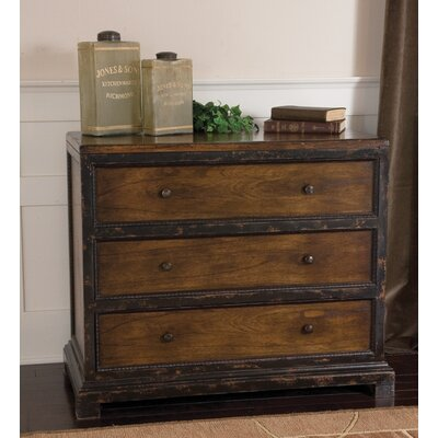 Rishi 3 Drawer Chest in Hickory